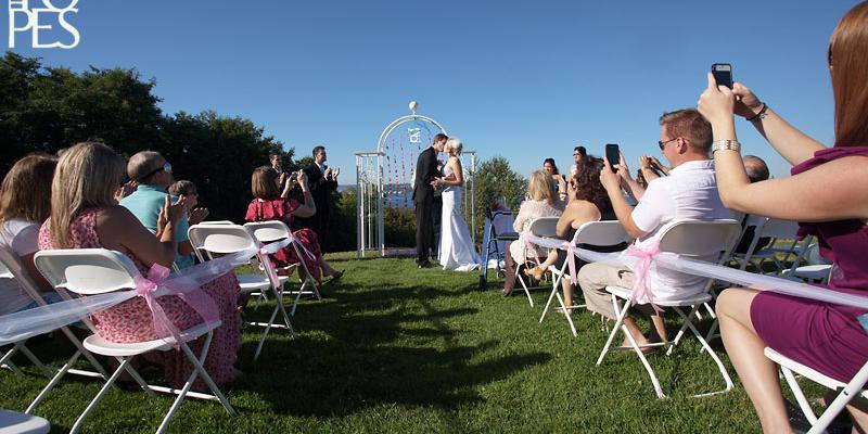 Hamilton Viewpoint Park wedding Seattle