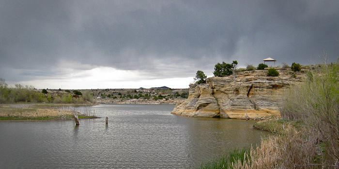 Clayton Lake State Park wedding New Mexico