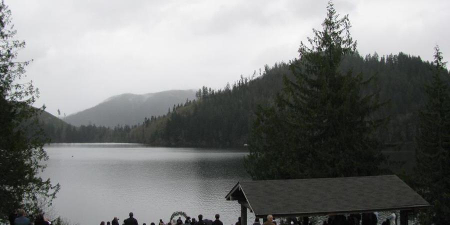 Mineral Lake Lodge wedding Tacoma