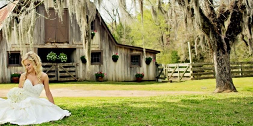 Afton Villa Gardens wedding Baton Rouge