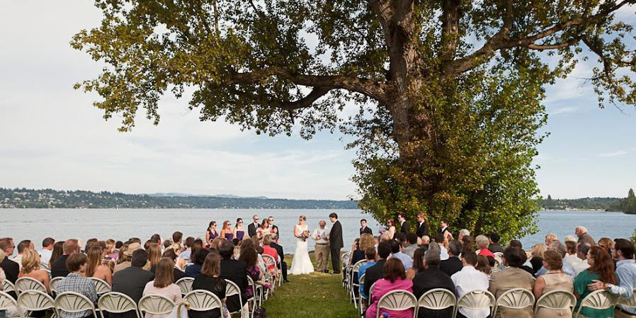 Colman Park wedding Seattle