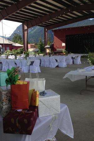 Haines Fairgrounds wedding Alaska