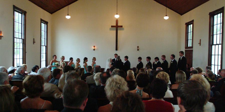 Historic Cove Church wedding Atlanta