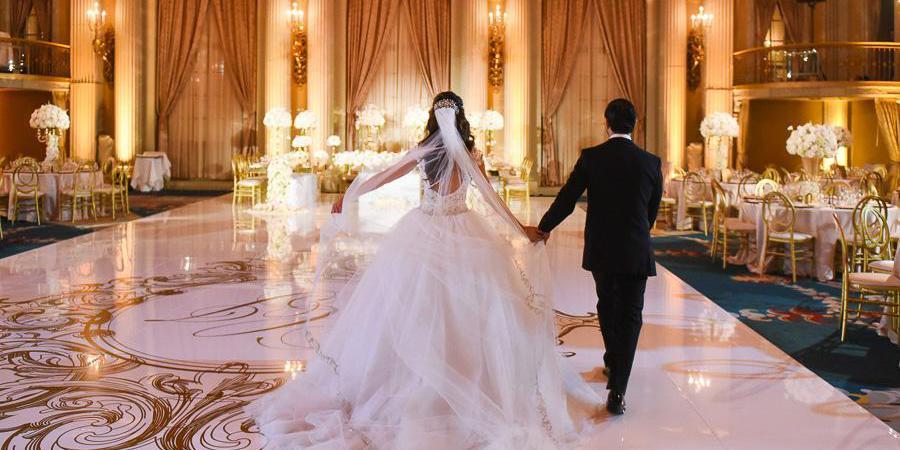 Millennium Biltmore Hotel Los Angeles wedding Los Angeles