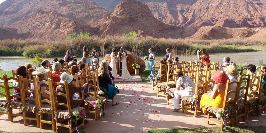 Sorrel River Ranch Resort & Spa wedding Central Utah