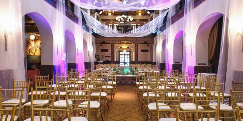 Hotel Andaluz wedding New Mexico