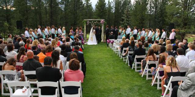 Angel Fire Resort Country Club wedding New Mexico