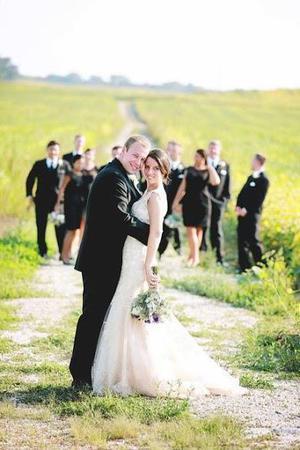 Barn at Trinity Peak wedding Milwaukee
