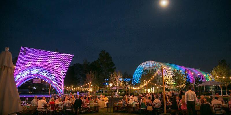 Myriad Botanical Gardens wedding Oklahoma City