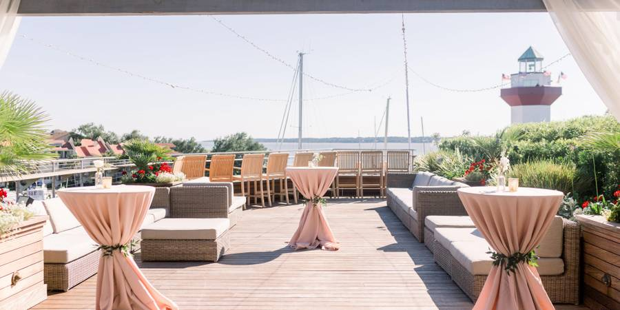 Harbour Town Yacht Club wedding Hilton Head
