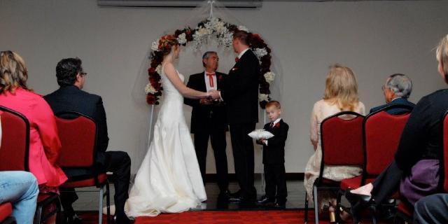 Sooner Legends wedding Oklahoma City