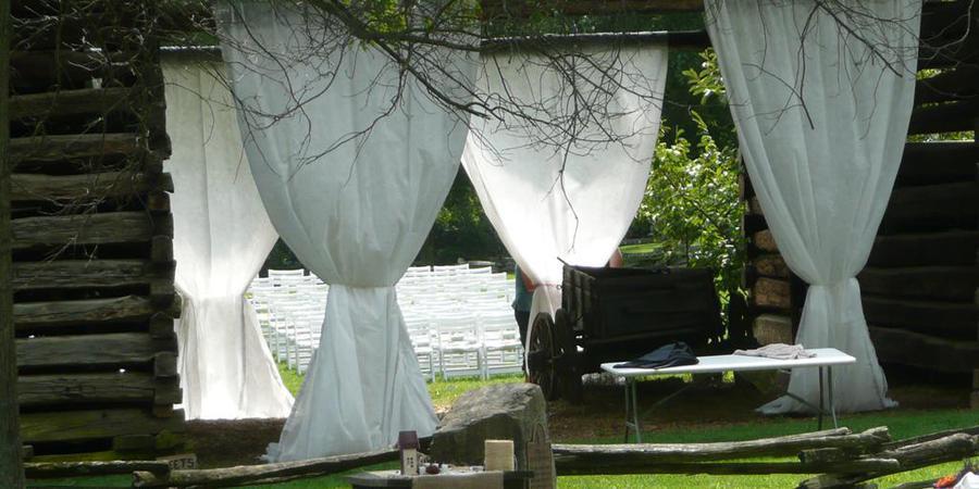 Tipton-Haynes Historic Site wedding Knoxville