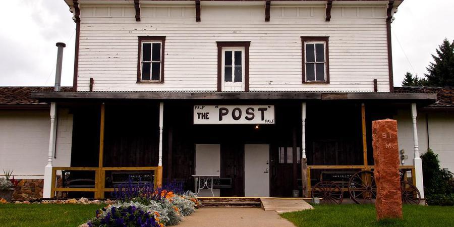 The Post - Fort Lincoln wedding North Dakota