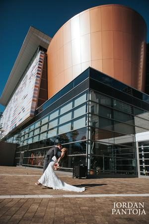 The Muhammad Ali Center wedding Louisville