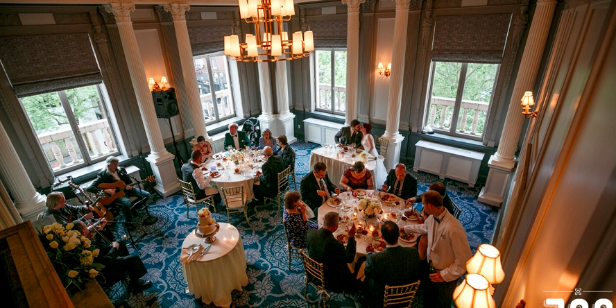 Jake's Catering at Sentinel Hotel wedding Portland