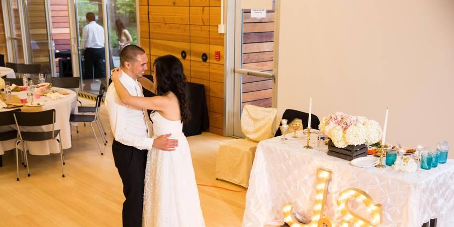 Firstenburg Community Center wedding Tacoma