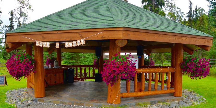 Gallery Lodge wedding Alaska