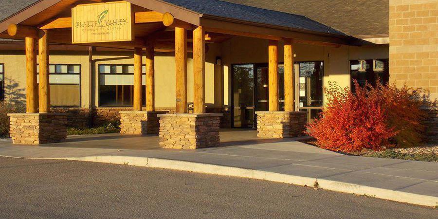 Platte Valley Community Center wedding Wyoming