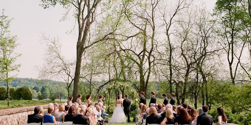 Bryn Du Mansion and Fieldhouse wedding Columbus