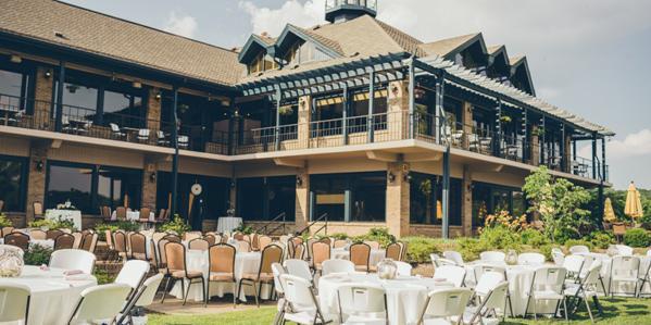 Tellico Village Yacht Club wedding Knoxville