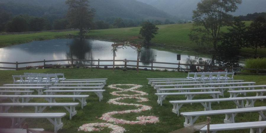Wisteria Ridge Event Center wedding Southwest Virginia