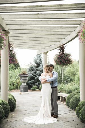 Rotary Botanical Gardens wedding Milwaukee