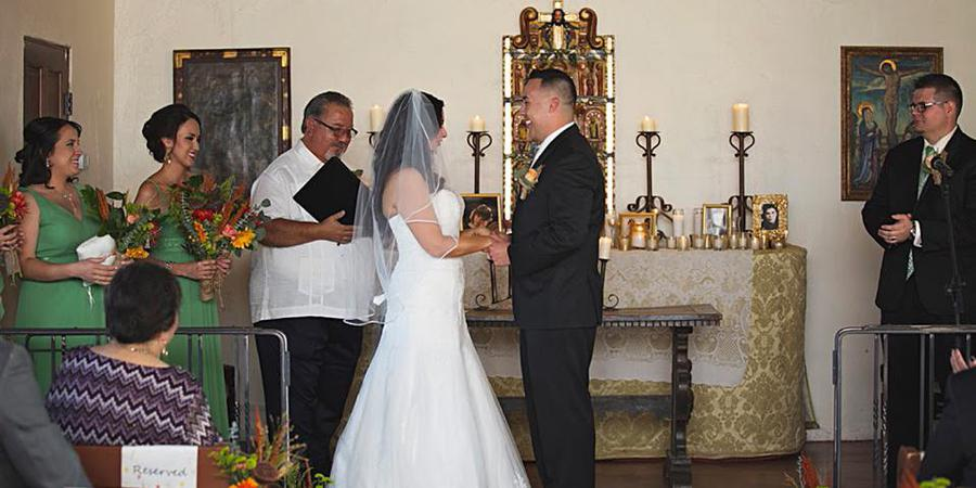 San Pedro Chapel wedding Tucson