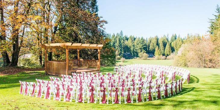 Cedars on Salmon Creek wedding Tacoma
