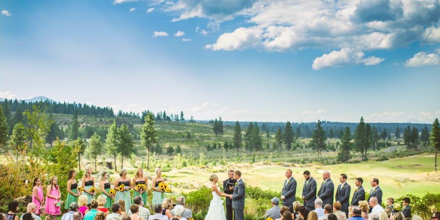 Tetherow wedding Willamette Valley