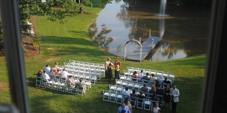 The Riddick House at Stevenson Ridge wedding Fredericksburg