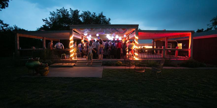 Redbud Party Barn wedding Wichita