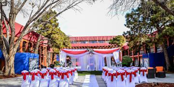 Hotel Cascada wedding New Mexico