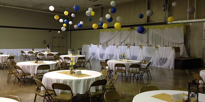 North Dakota State Fair Center wedding North Dakota