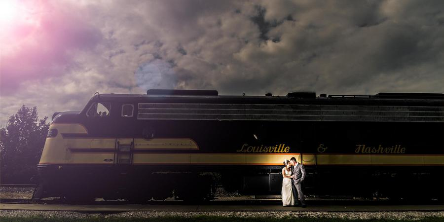 Historic Railpark & Train Museum wedding Bowling Green