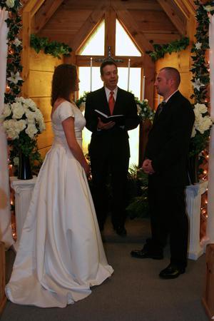 A Light of Love Wedding Chapel wedding Gatlinburg