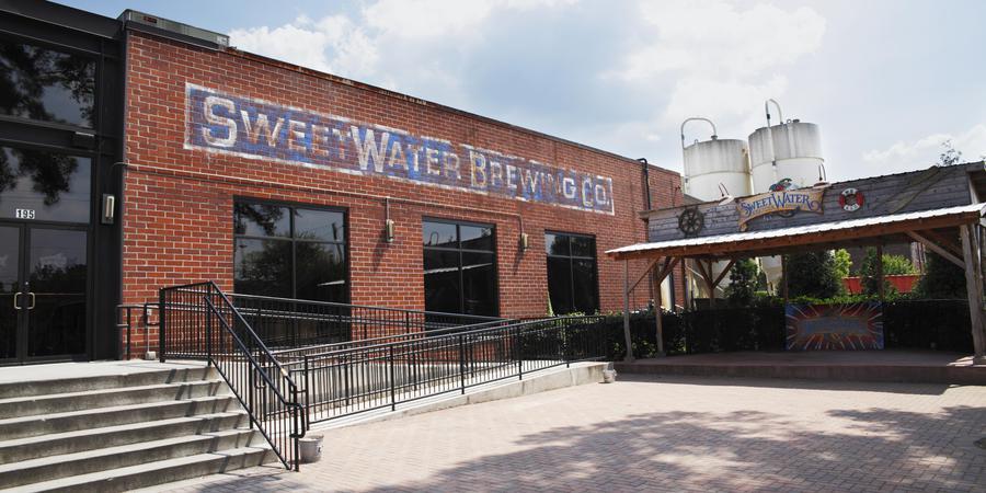 SweetWater Brewing Company wedding Atlanta
