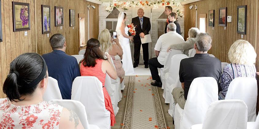 Country Caboose Wedding Chapel LLC wedding Springfield