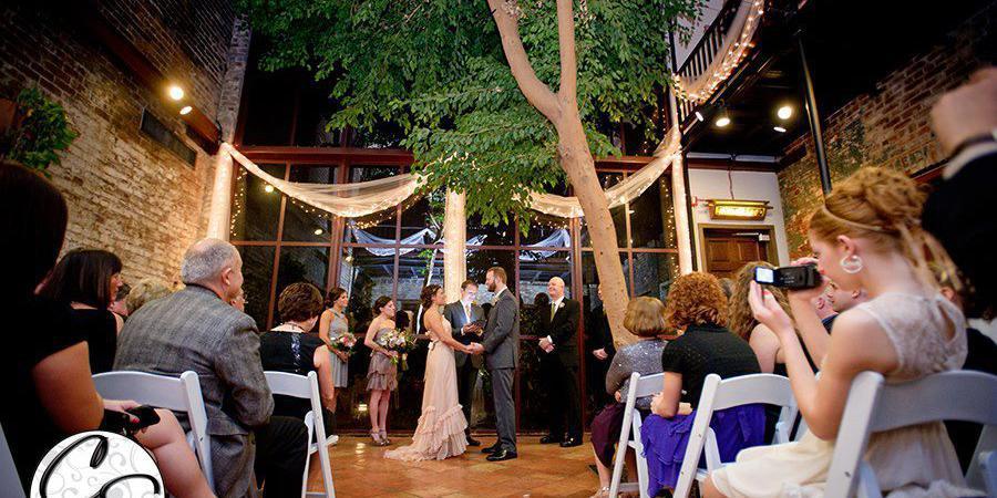 Rosy's Jazz Hall wedding New Orleans