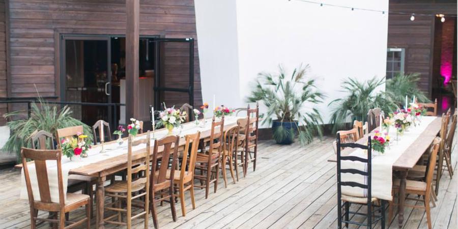 The Palm Door on Sixth wedding Austin