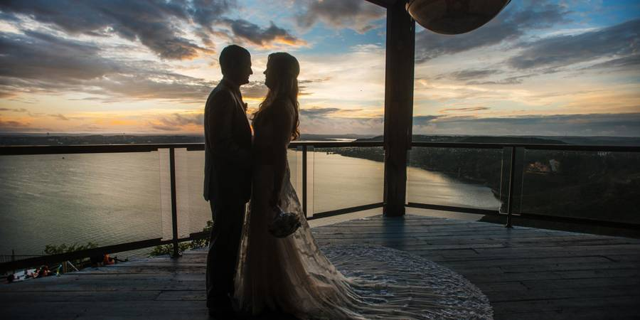 The Oasis on Lake Travis wedding Austin