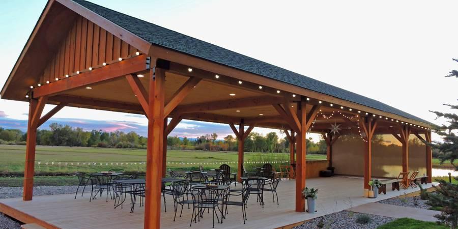 Gallatin River Lodge wedding Montana