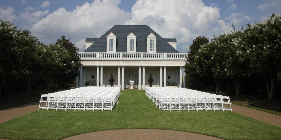 The Hall and Gardens at Landmark wedding Raleigh/Triangle