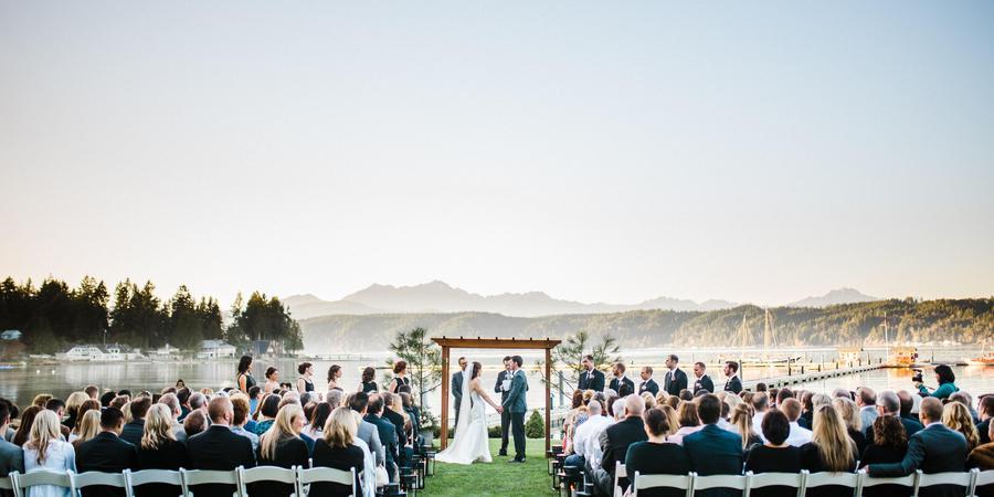 Alderbrook Resort & Spa wedding Seattle