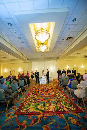DoubleTree by Hilton Hotel South Bend wedding Northwest Indiana