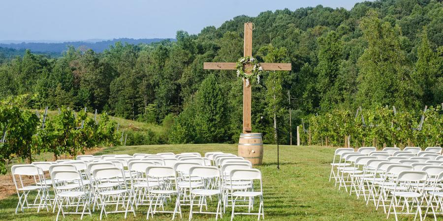 Engelheim Vineyards wedding Atlanta