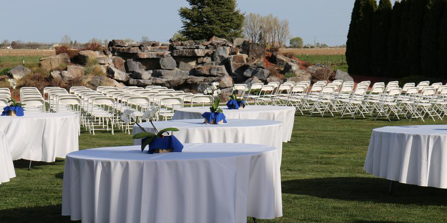 The Castle Gardens wedding Idaho