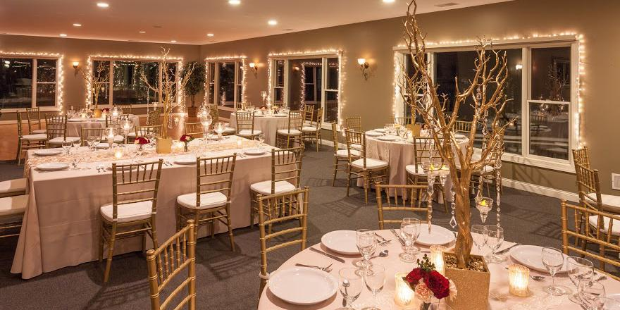 Lake Forest Golf Club wedding Detroit
