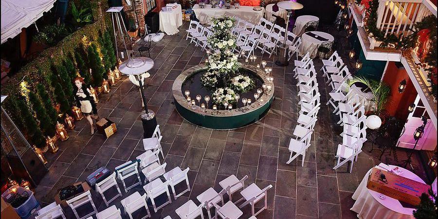 Hotel Maison de Ville wedding New Orleans
