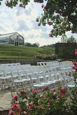 Lewis Ginter Botanical Gardens wedding Fredericksburg