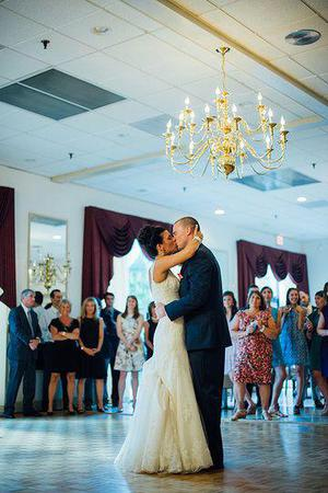 Jefferson Lakeside Country Club wedding Fredericksburg